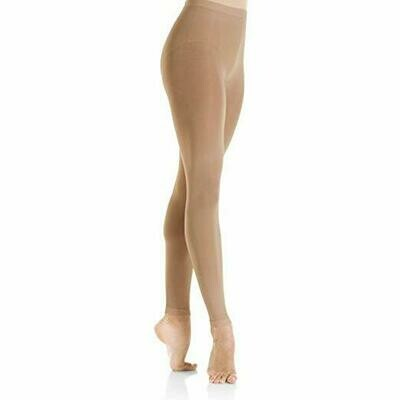 Footless Tights In Caramel (3312)