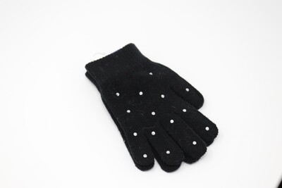 Crystal Gloves (Black)