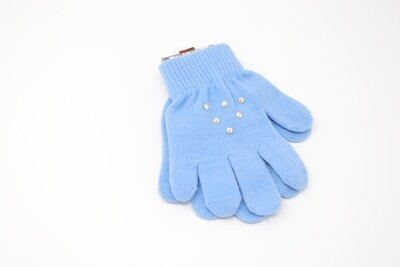 Crystal Gloves (Blue)