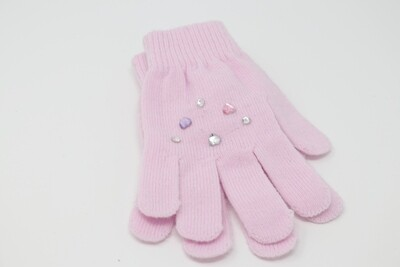 Crystal Gloves (Pink)