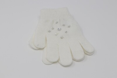 Crystal Gloves (Cream)
