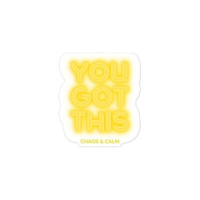 YOU GOT THIS - Stickers!