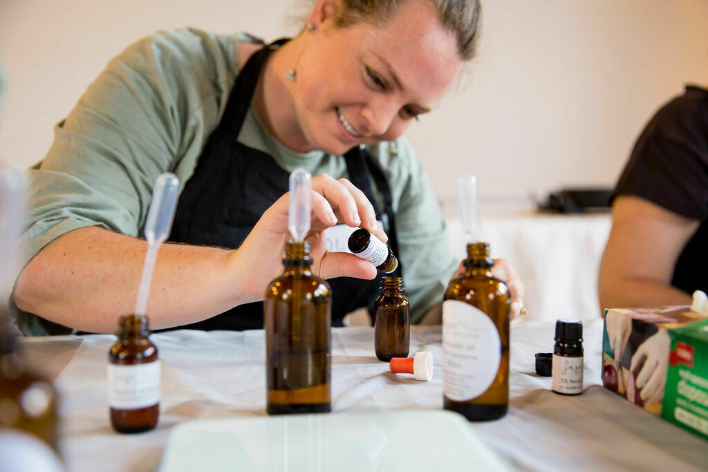 Essential Oil Blending & Natural Skincare Workshop COMBINED MASTERCLASS - Saturday 20th June (10.30am to 4.30pm) (MORNING & AFTERNOON SESSION COMBINED)