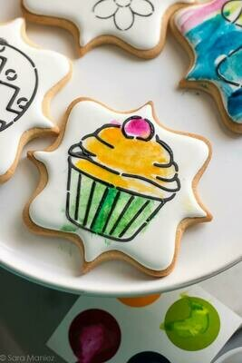 6+ Paint Your Own Cookie Decorating - School Holiday Workshop for Kids -Wednesday 30th September 2020 - 10am to 12pm