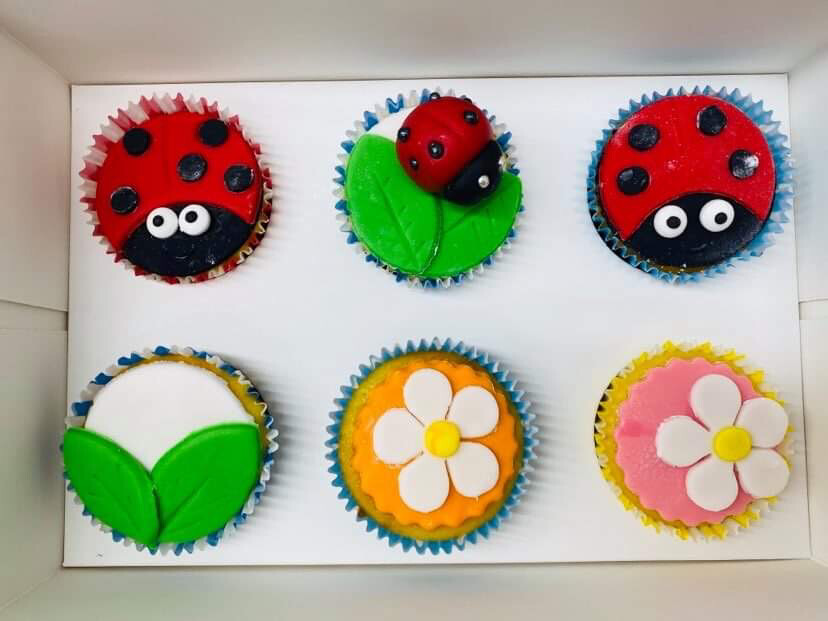 KIDS FONDANT CUPCAKE DECORATING - PRIVATE LESSON - 8+