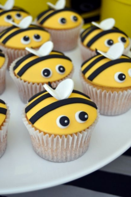 8+ Bumblebee Cupcakes - School Holiday Workshop for Kids - Wednesday 30 September 2020 - 1pm to 3pm