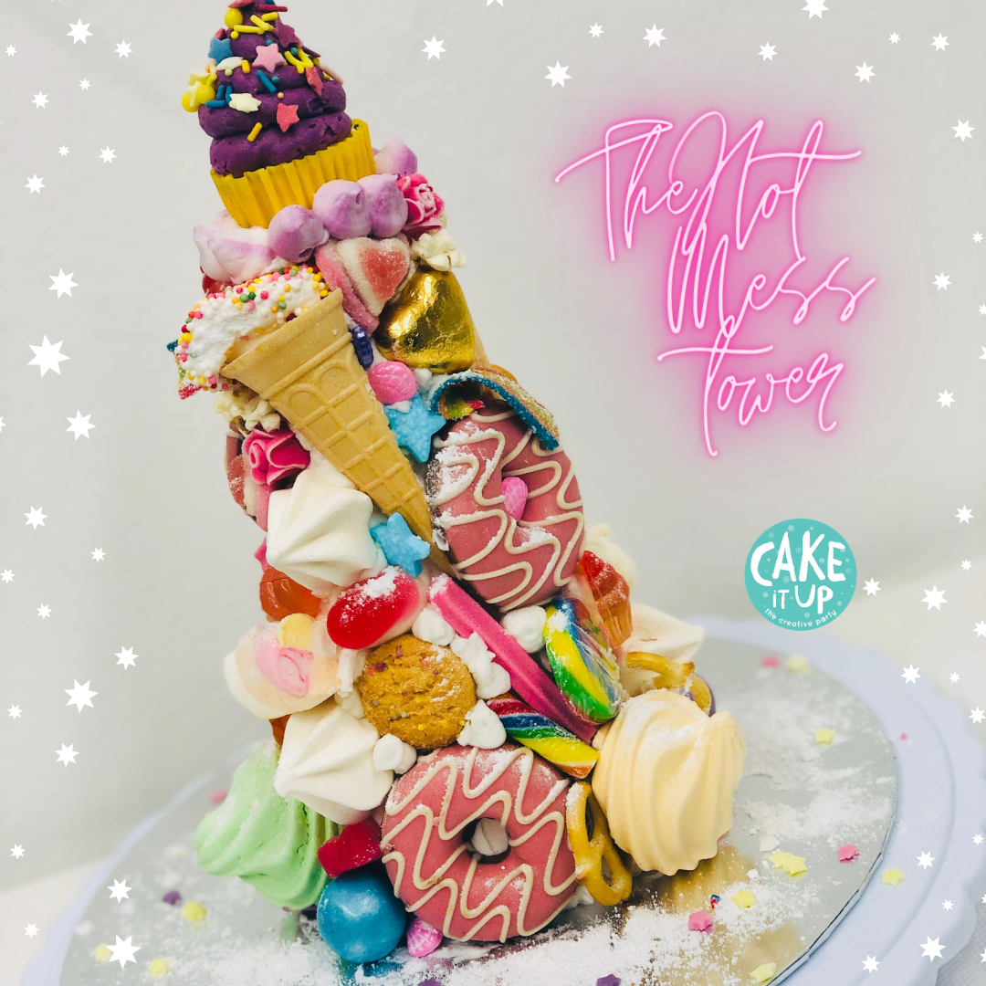 6+ The Hot Mess Tower - School Holiday Workshop for Kids - Thursday 14th January  2021 (12pm - 1.30pm)