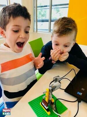 5+ Bricks 4 Kidz - Robotics - School Holiday Workshop for Kids - Wednesday 7 October 2020 - 10am to 3pm