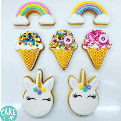 6+ Paint Your Own Cookie Decorating - School Holiday Workshop for Kids - Thursday 8 October 2020 - 10am to 12pm