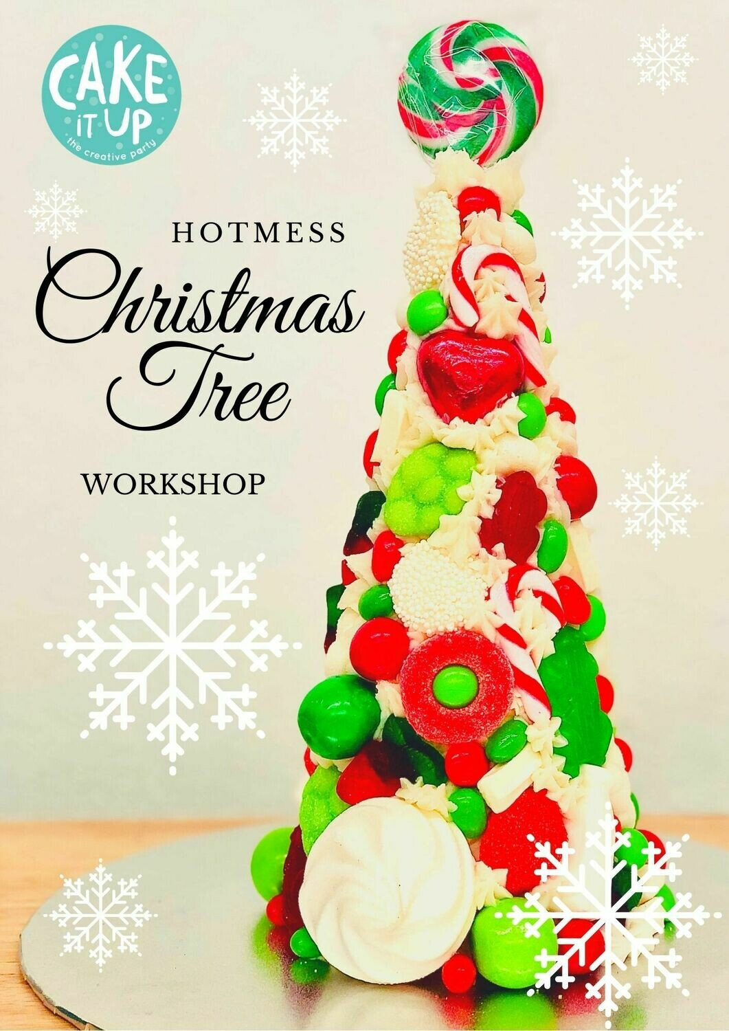 6+ The Hot Mess Christmas Tree - Thursday 17 December 2020 - School Holiday Workshop for Kids - 9:30am to 11am