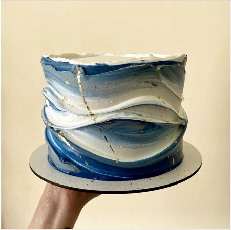 Wave Cake - Workshop for Adults - Monday 10 May 2021 - 10am to 2pm
