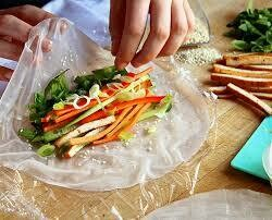 6+ Rice Paper Rolls - Wednesday 7 April 2021 - School Holiday Workshop for Kids - 11:30am to 1pm