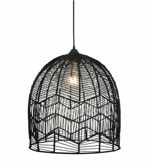 Carolina 1LT Pendant Black AP-1137-BLK