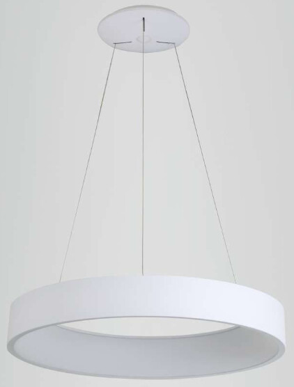 Mica White LED pendant