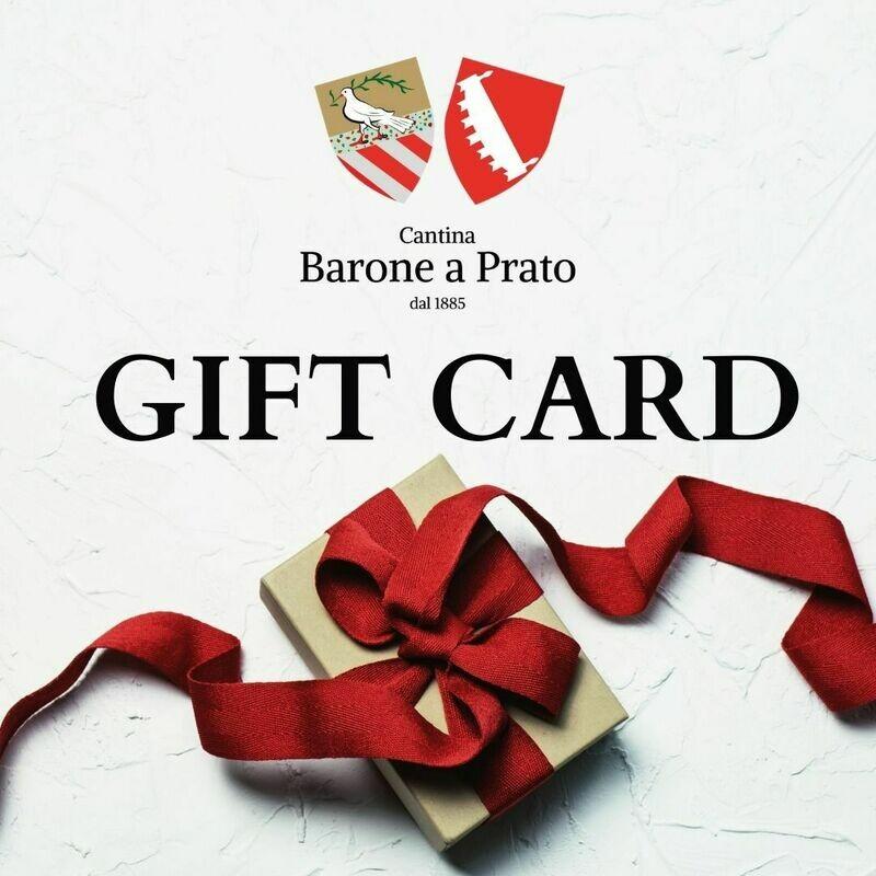 Carta regalo Vini Barone a Prato