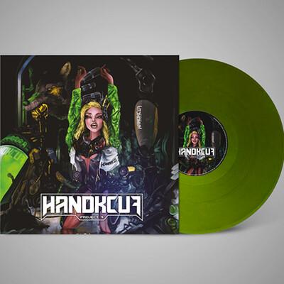 Handkcuf Project 4 / Toxic Lines (Vinyl)