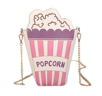 Sweet Popcorn Over Shoulder Pursenality
