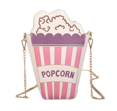 Sweet Popcorn Over Shoulder Pursenality