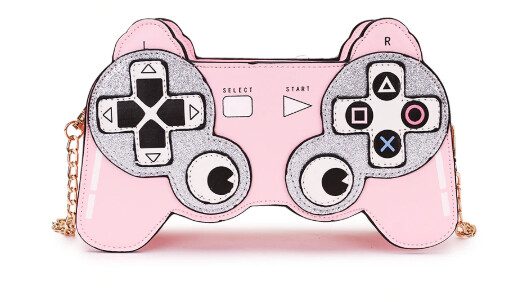 Pink Control Play Game Purse