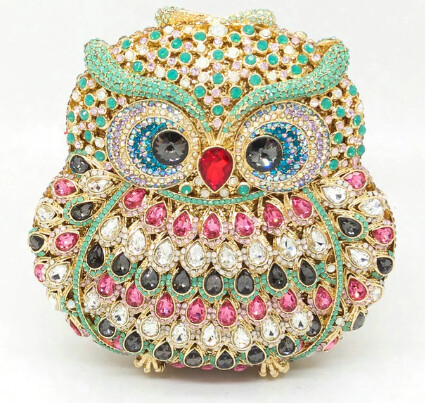 Diamond Pursenality Owl