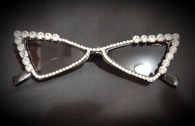 Triangle Tri Diamond Cat Sunglasses