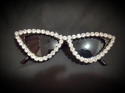 Cat Eye Diamond Sunglasses