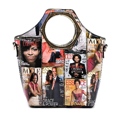 Ms. Obama Magazine Handbag (In Color)