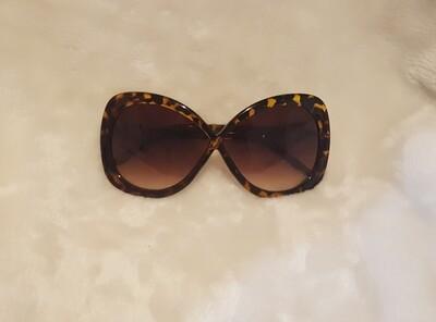 Print Cheetah Cat eye Sunglasses
