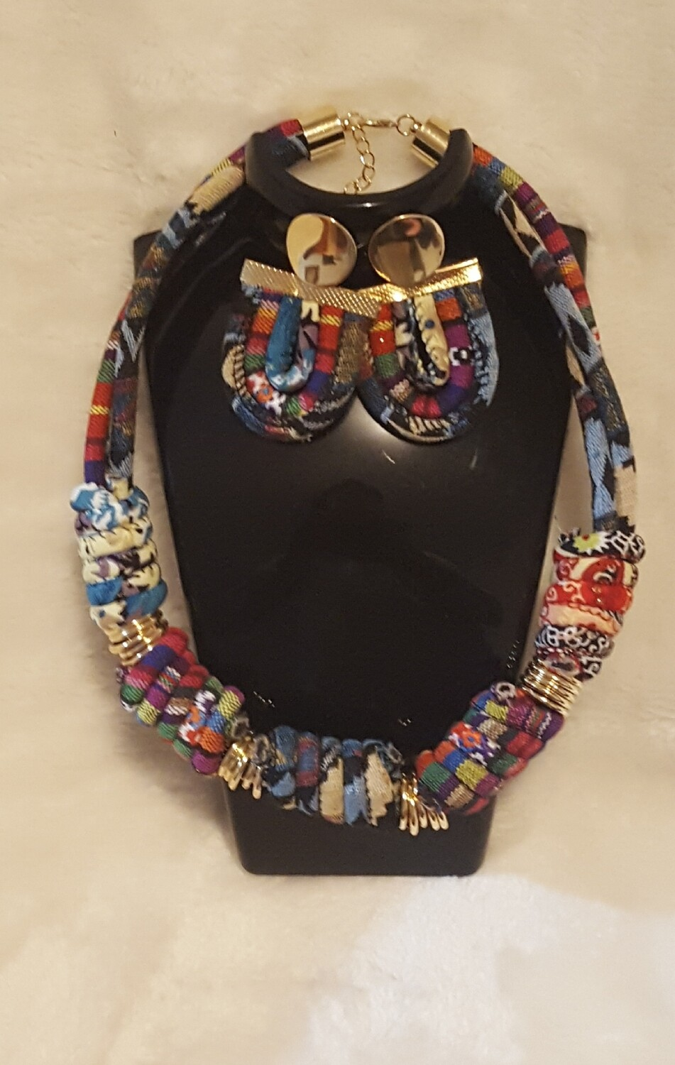 Kwanzaa Celebrated Necklace & Earring Set