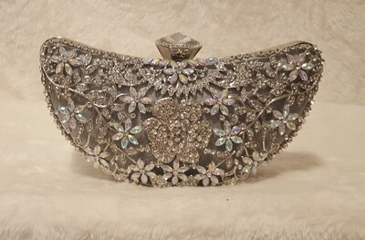 Jeweled Flower Cresent Pursenality