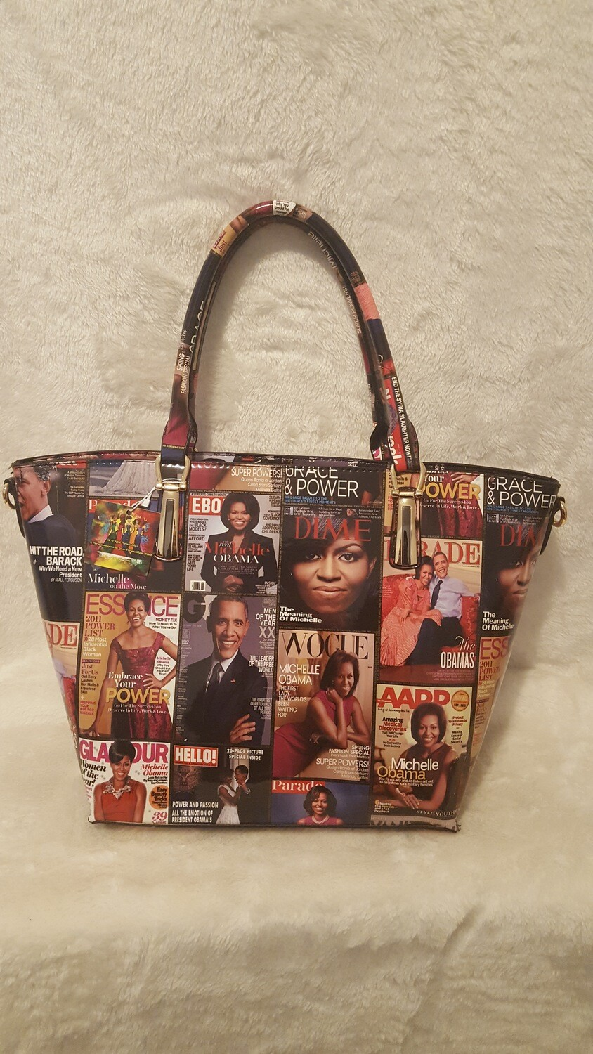 So Colorful Michelle Obama Magazine Purse
