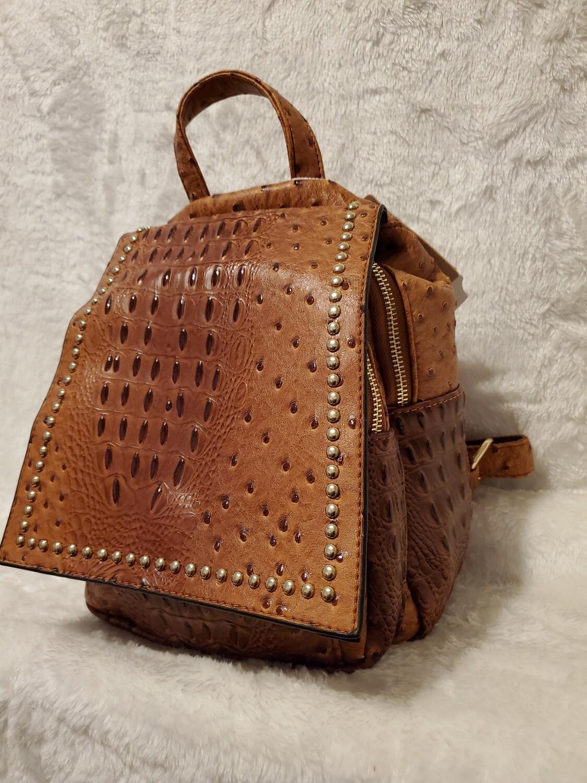 Ostrich Designer Inspired Backpack