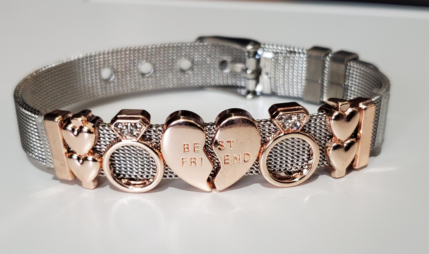 Best Friend Mesh Bracelet