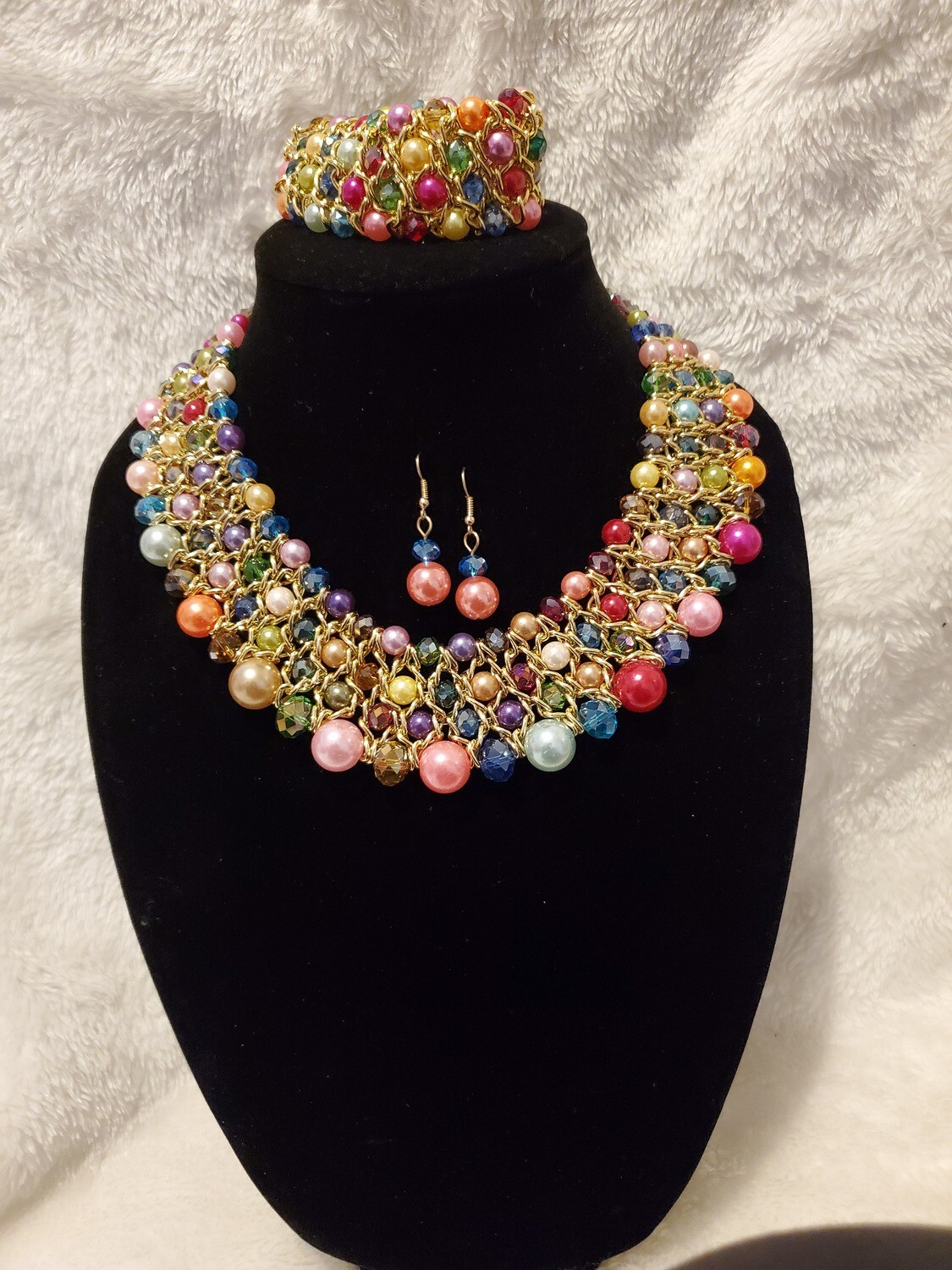 Rainbow Pearl Pieces