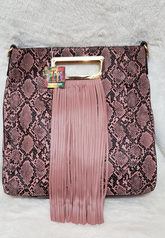 Pink Tiger Fringe 💗