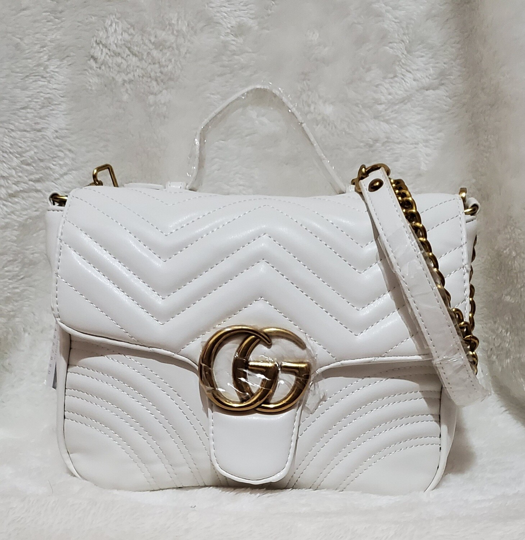 Guc*ci GG Marmort (White)