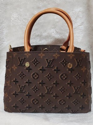 LV Double Printed  STITCHED