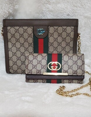 Gucci Ophidia small shoulder bag with wallet