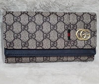 Gucci Wallet Navy Blue