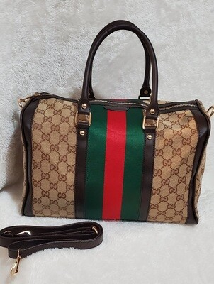Gucci  Boston Medium  Monogram Tote
