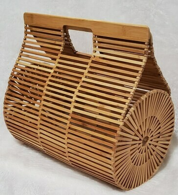 Summer Wooden Basket Pursenality