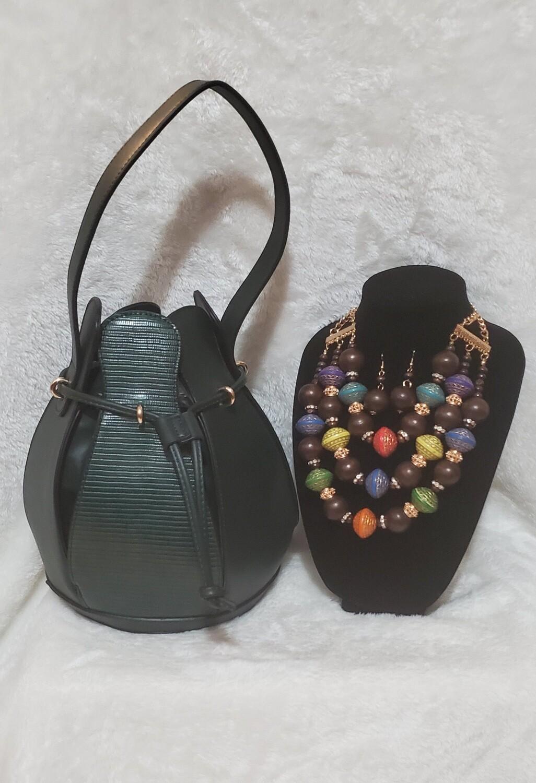 Balloon Bag (Green) sold as set