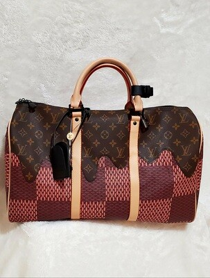 LV  Mirror Quality Keepall Virgil Abloh X Nigo