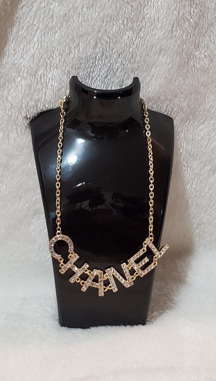 Gold Blinged Chanel