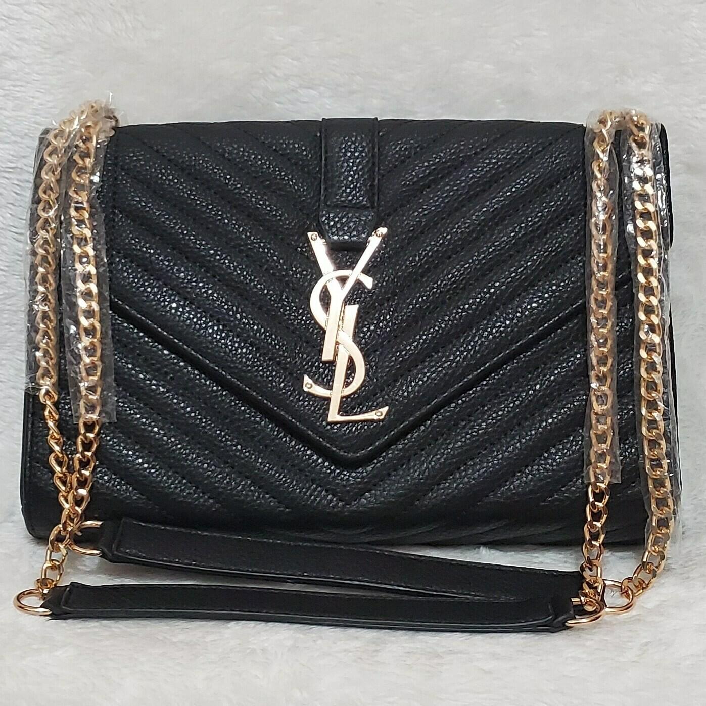 YSL Clutch (Black)