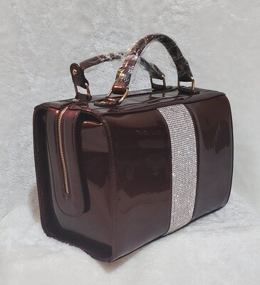 Dazzle Her Doctor Tote (Cranberry)
