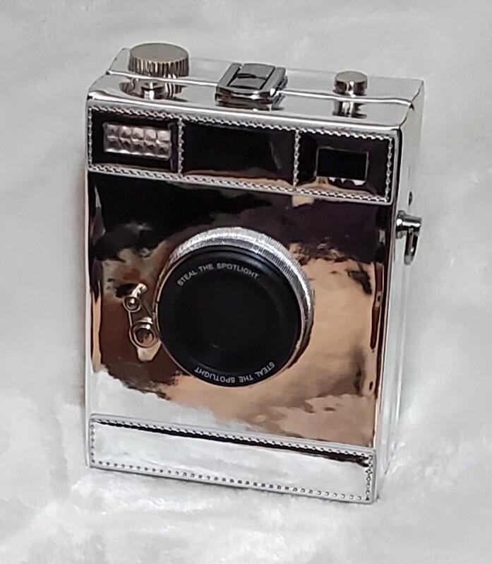 Silver Charming Flash Camera