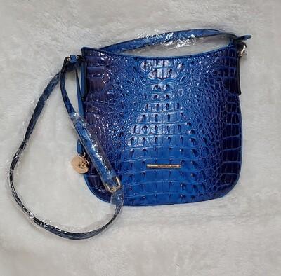 Crocodile Blue Designer Inspired Crossbody