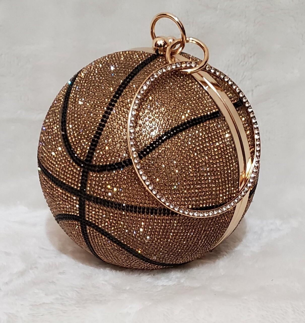 Glitz & Glam Basketball Wristlet