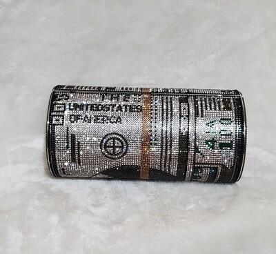 Dollar Bill Roll Clutch